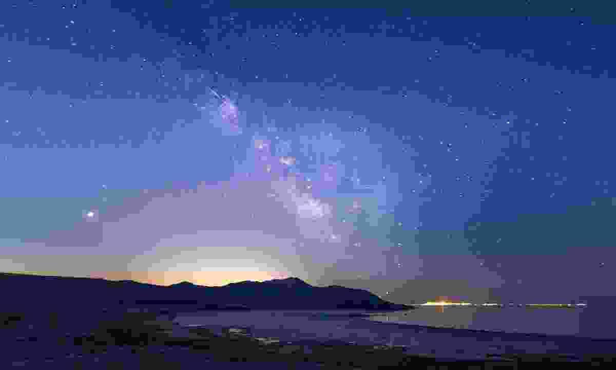 Stargaze in Antelope Island State Park — one of Utah's 11 Dark Sky Reserves (Dan Ransom)