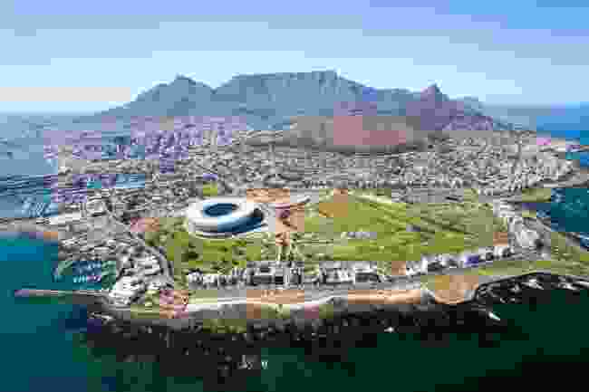 Aerial view of Cape Town (Shutterstock)