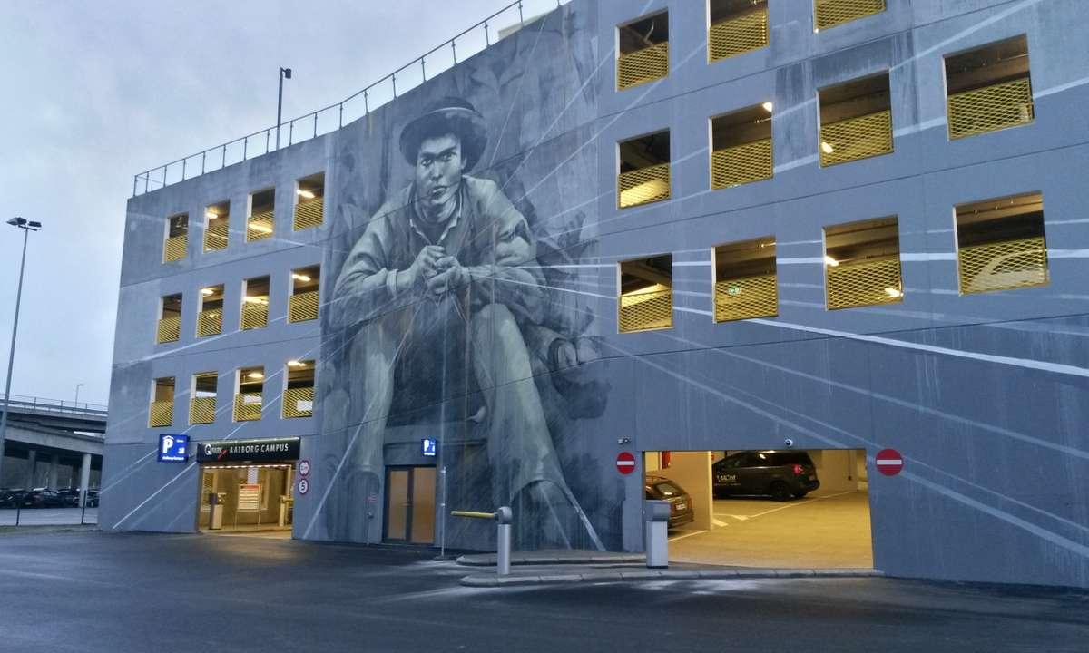 Street art in Aalborg (Dreamstime)