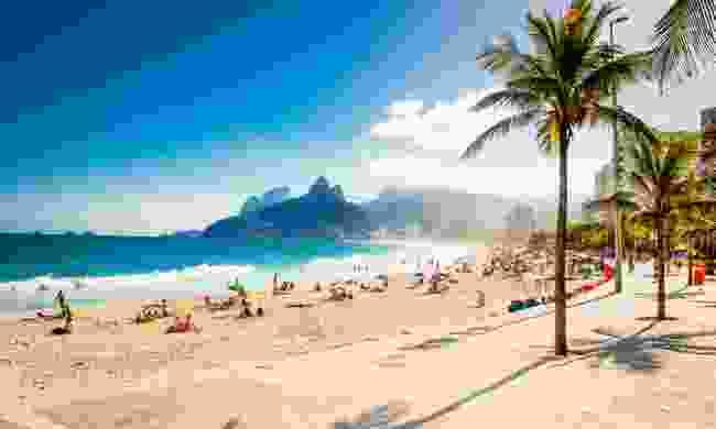 Ipanema beach in Rio de Janeiro (Shutterstock)