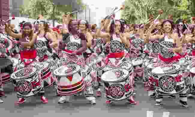 Batala Samba at Notting Hill Carnival (Shutterstock)