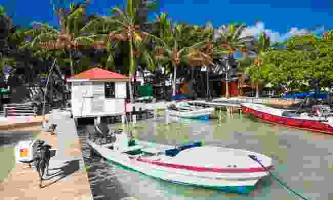 Caye Caulker in Belize (Shutterstock)