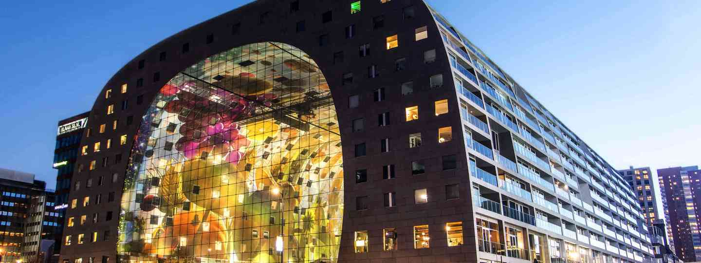 Markthal, Rotterdam (Dreamstime)