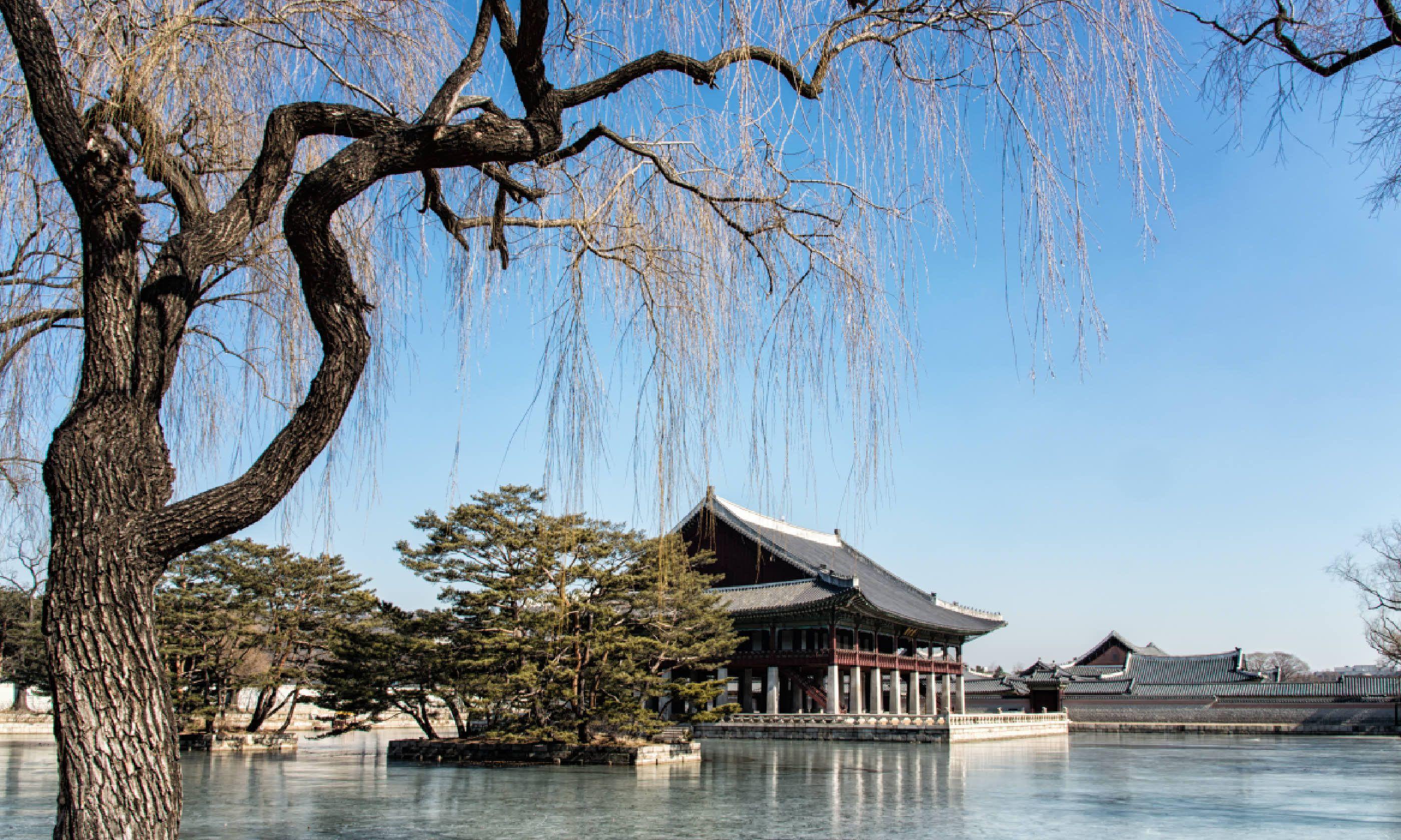 Gyeonghoeru Pavilion in Gyeongbok Palace, Seoul (Shutterstock)