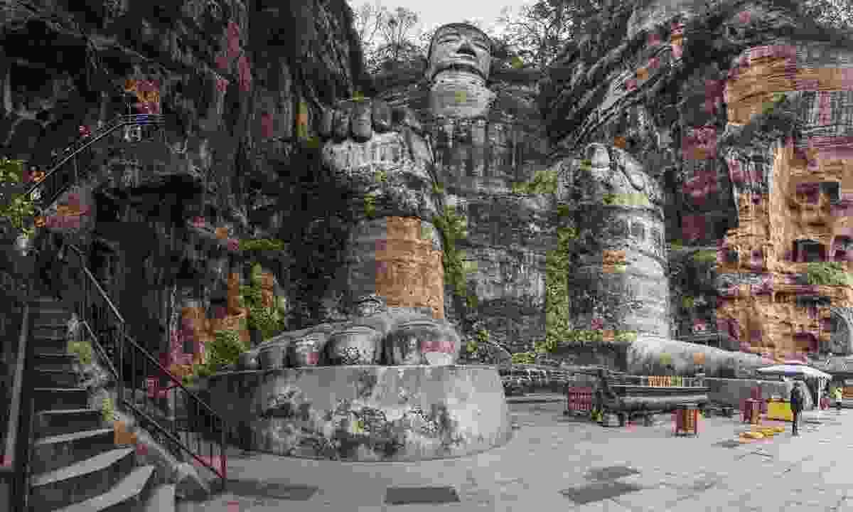 The Giant Buddha of Leshan (Dreamstime)