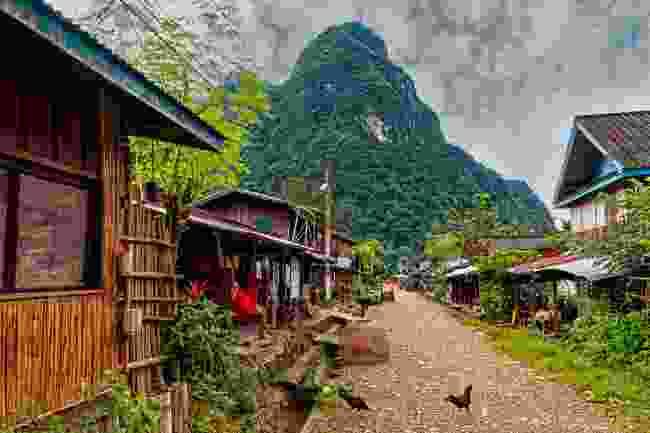 Muang Ngoi village, Laos (Shutterstock)