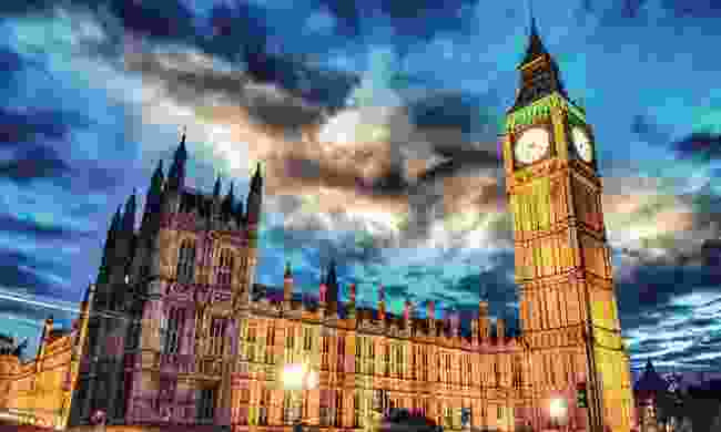 Moonlit Westminster – a site few others get to see (Shutterstock)