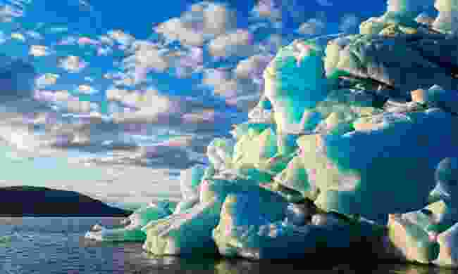 An iceberg in the north of Novaya Zemlya (Shutterstock)
