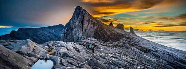 On top of Mount Kinabalu. (Shutterstock)