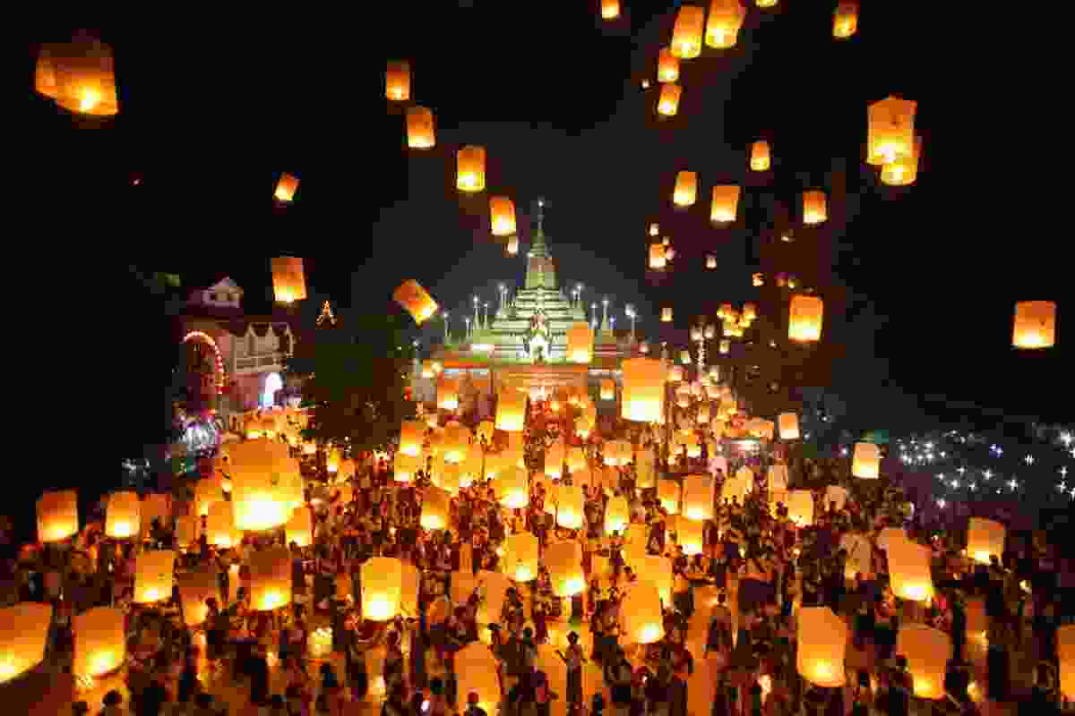 Vesak commemorations in Burma (Shutterstock)