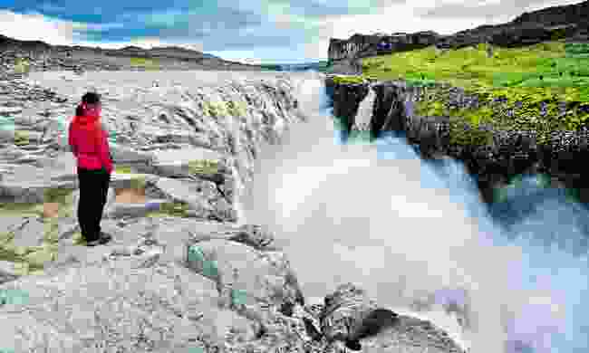 Dettifoss waterfall, said to be Europe's most powerful waterfall (Dreamstime)