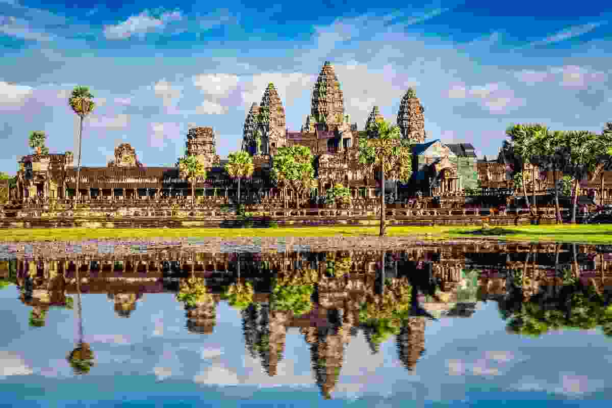 Angkor Wat is one of Cambodia's most famous Buddhist temples (Shutterstock)