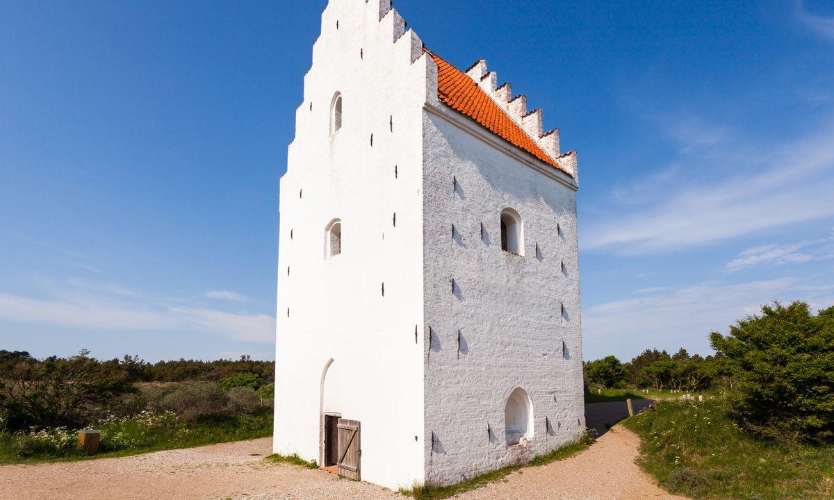 Den Tilsandede Kirke, Skagen (Dreamstime)