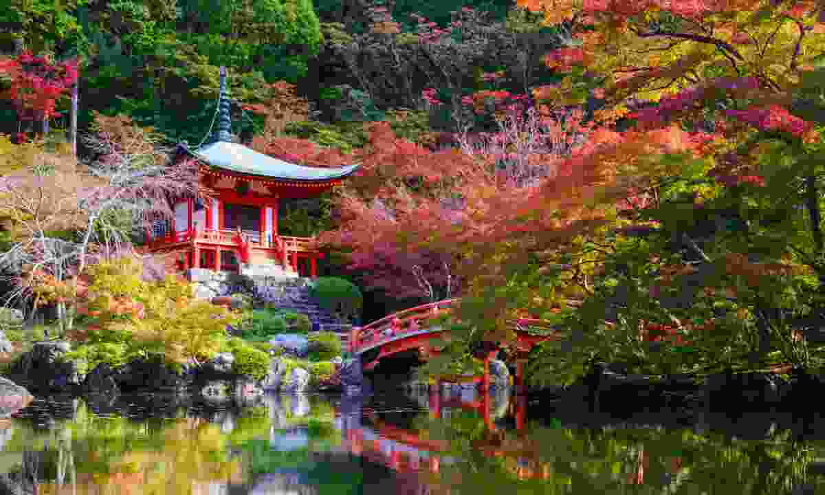Daigoji Temple in Autumn, Kyoto, Japan (Dreamstime)