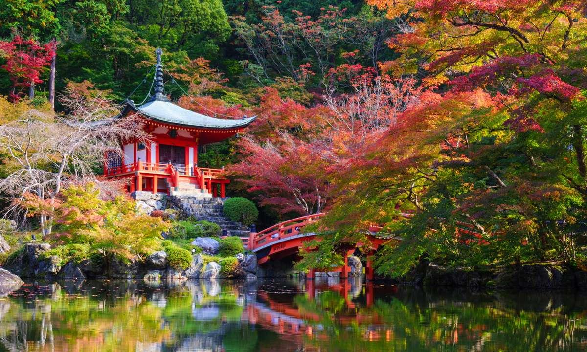 Daigoji Temple in Autumn, Kyoto, Japan (Dreamstime)