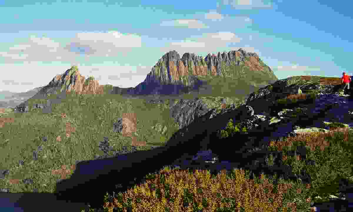 The magestic summit of Cradle Mountain (Dreamstime)