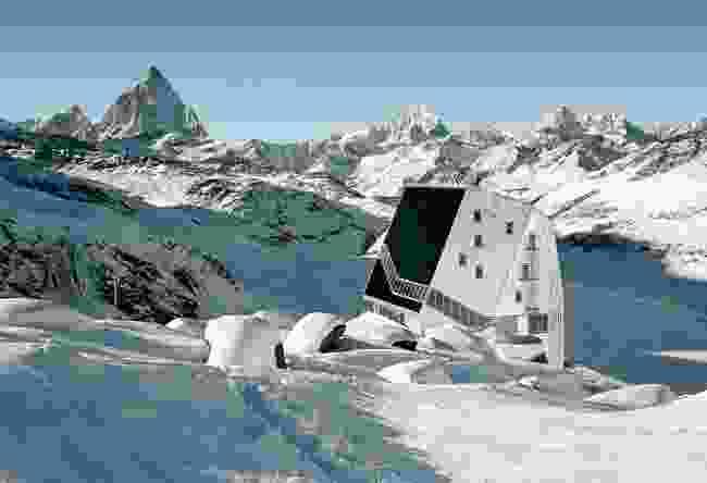 Monte Rosa Hut, Switzerland (ETH Zürich/Tonatiuh Ambrosetti)