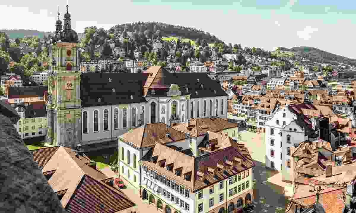Beautiful St Gallen (Switzerland Tourism)