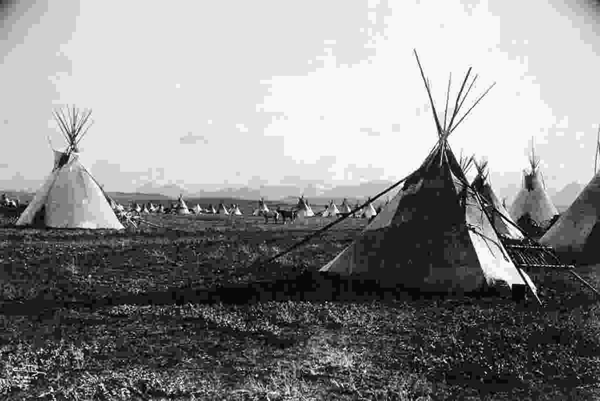 Lakota tribe encampment in the Black Hills (Supplied by author)