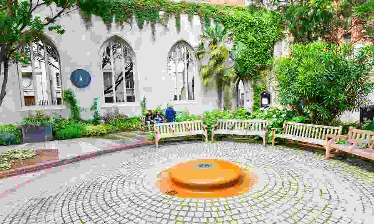 St Dunstan-in-the-East – the site of London's best secret garden (Dreamstime)