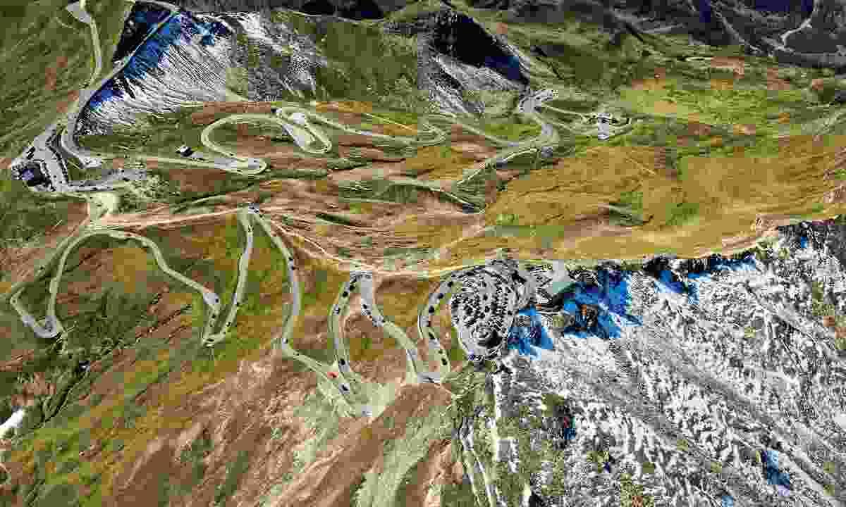 A landscape made for road trips (Österreich Werbung)