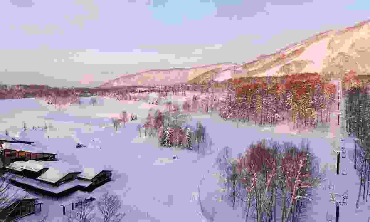 A ski resort near Zaborin, Hokkaido (Shutterstock)