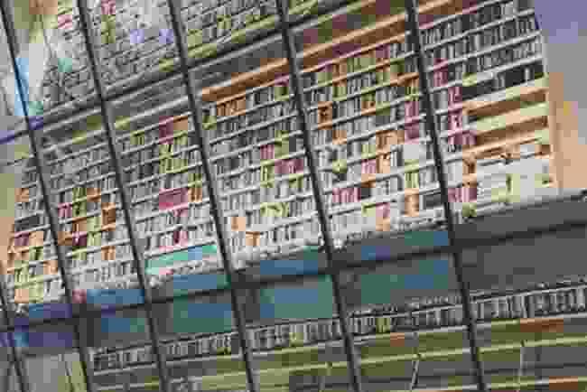 Inside the National Library of Latvia, Latvijas Nacionālā Bibliotēka (Elizabeth Atkin