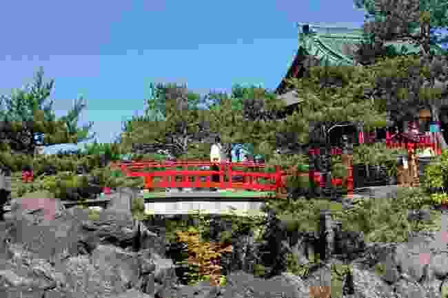 Asama Shrine, Japan (Lyn Hughes)