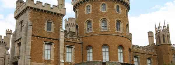 Belvoir Castle appears in The Crown (Shutterstock)