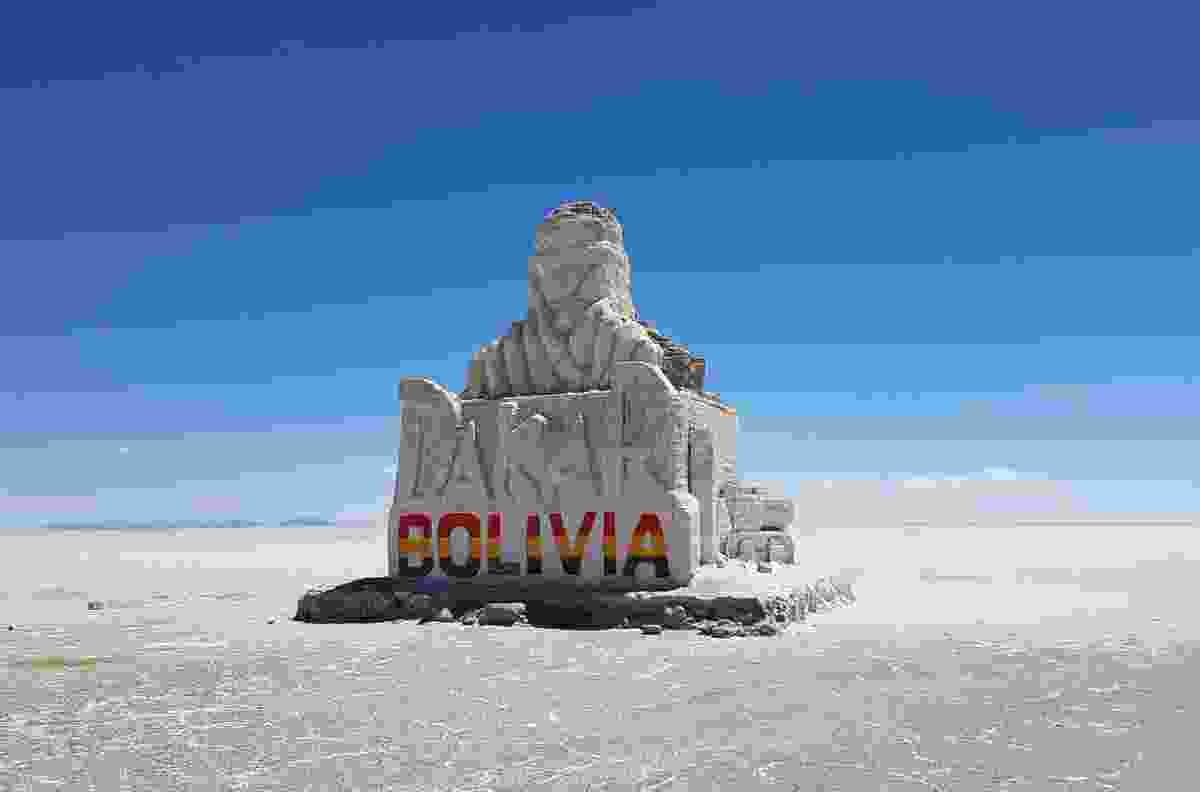 The Salar de Uyuni highlands in Bolivia (Dreamstime)