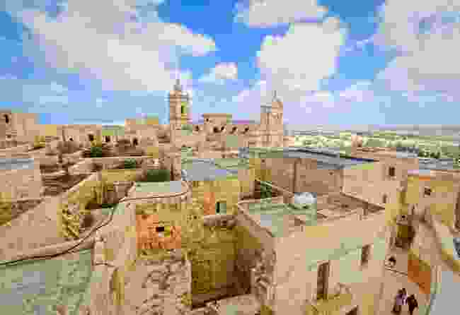 A view of the Citadel in Rabat, Gozo's capital (Shutterstock)