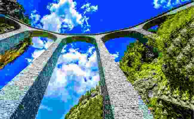 Semmering Railway, Austria (Shutterstock)
