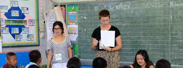 Teaching English in Thailand. (Shutterstock)