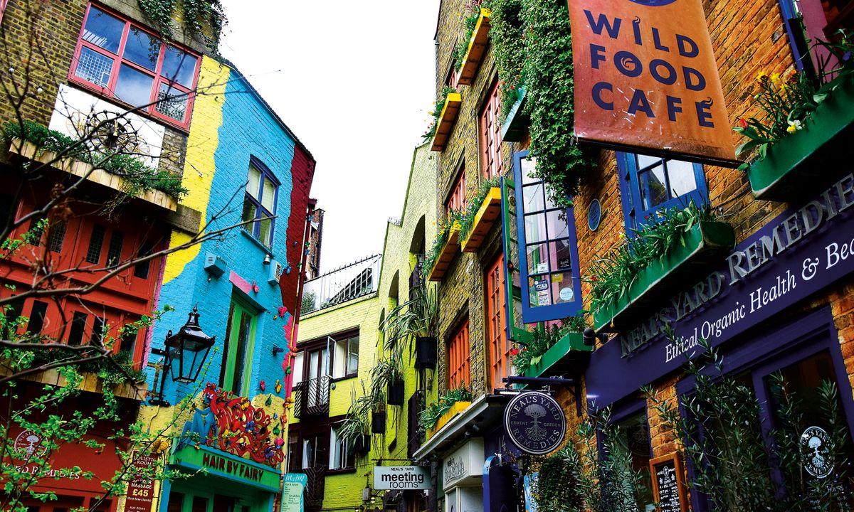 Neil's Yard in Covent Garden (Shutterstock)
