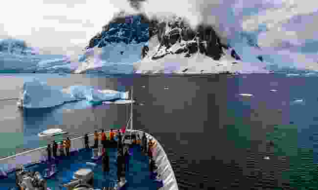 Polar expedition ships are small, meaning there's less passengers – giving you a truly personal experience (David Merron)