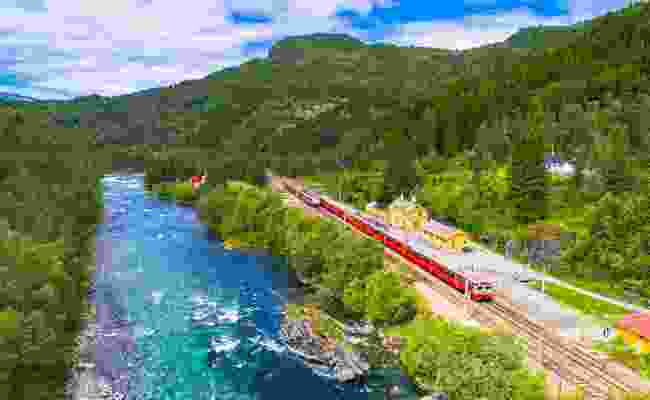 Bergen Railway, Norway (Shutterstock)