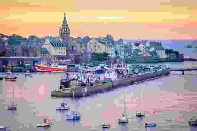 Roscoff harbour (Shutterstock)