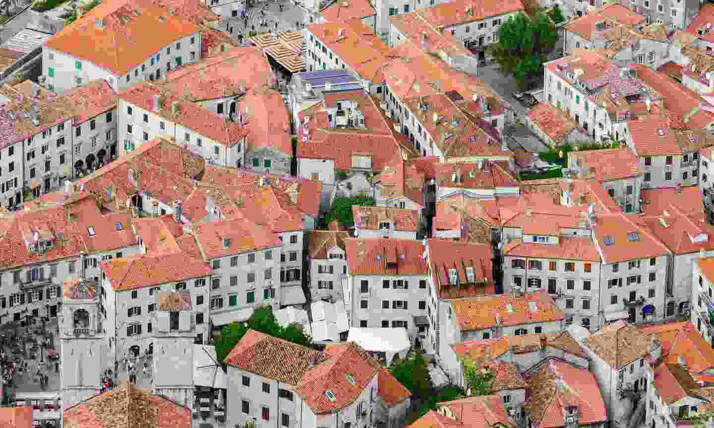 The red-tiled roofs of Stari Grad - the old city (Dreamstime)