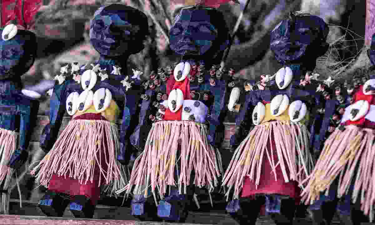 Voodoo dolls at the Akodessewa Voodoo Fetish Market in Togo (Shutterstock)