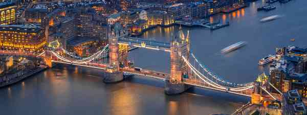 An aerial view of London. (Dreamstime)
