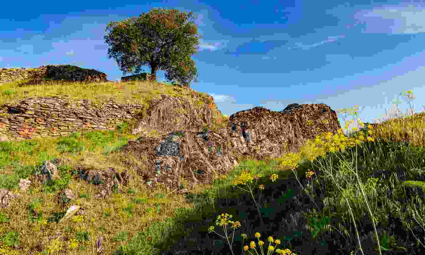 Ancient moorish castle called the Old Castel at Alcoutim (Shutterstock)