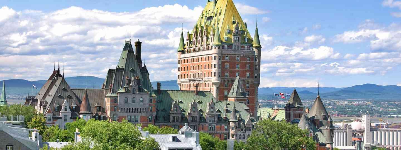 Fairmont Hotel, Québec City (Shutterstock)