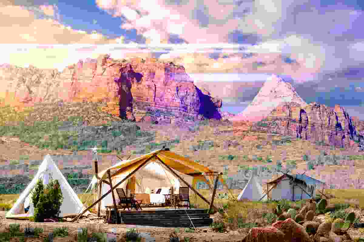 Stay at the safari-style 'Under Canvas Zion' (Under Canvas Zion)