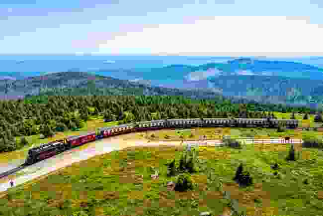 Brocken Railway, Germany (Shutterstock)