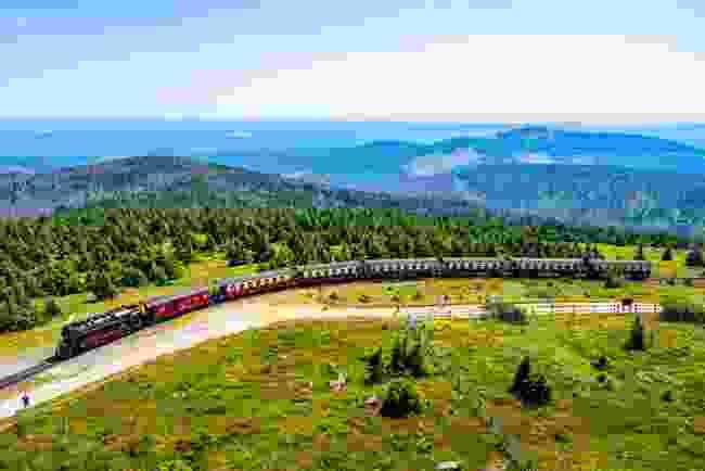 Brocken Railway, Germany (Shutterstock)