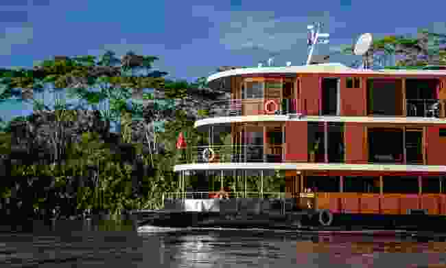 The MV Anakonda on the Amazon (Anakonda Amazon Cruises)