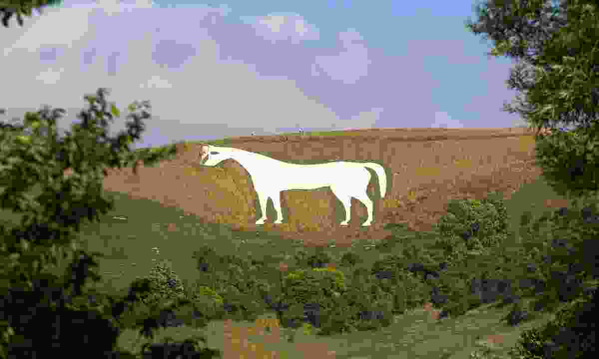 One of Wiltshire's White Horses (Dreamstime)