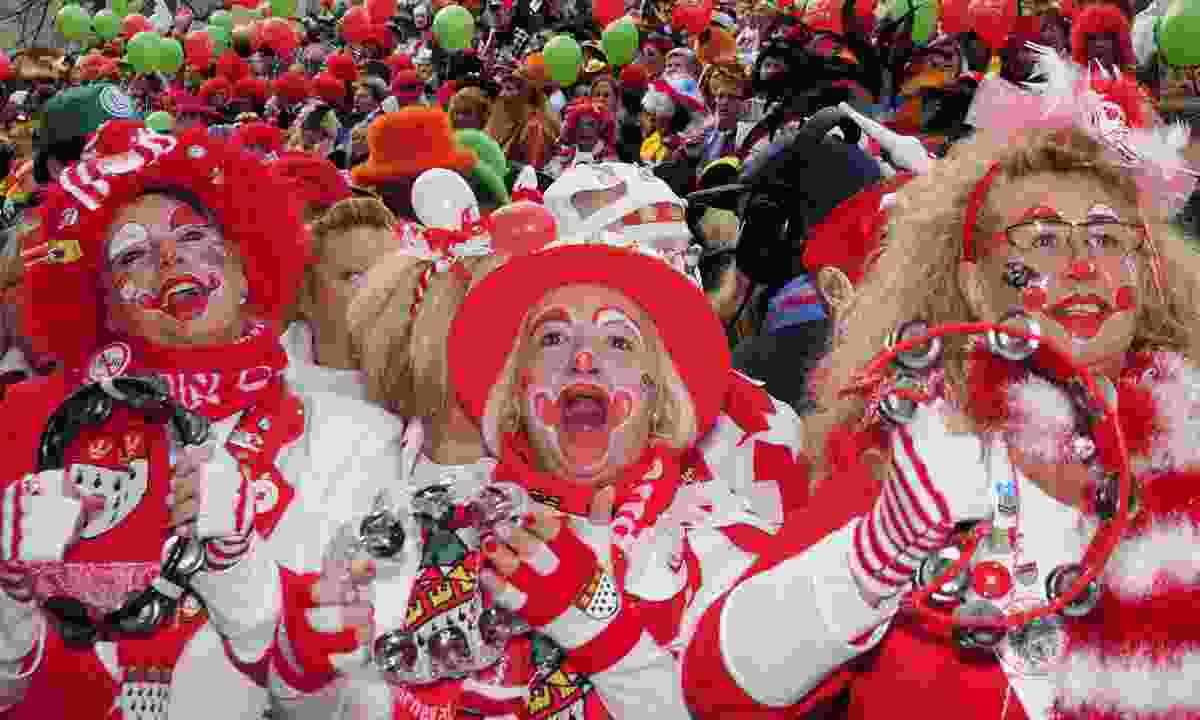 Getting clownish in Cologne (Shutterstock)