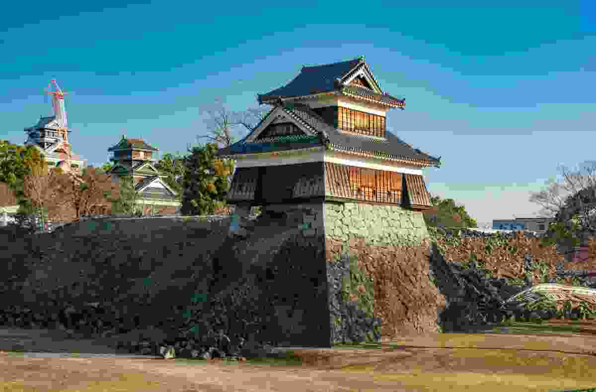 Kumamoto Castle after the 2016 earthquake (Shutterstock)