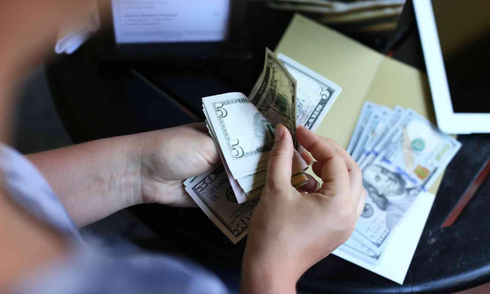 Tipping in America (Shutterstock)